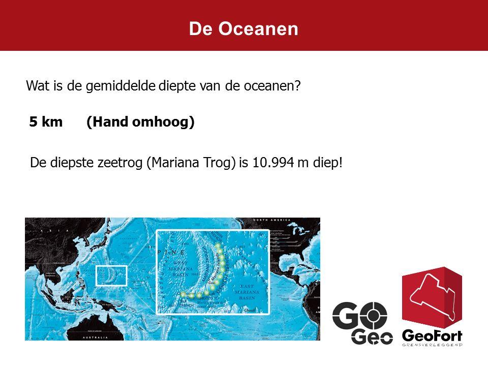 De Oceanen Wat is de gemiddelde diepte van de oceanen