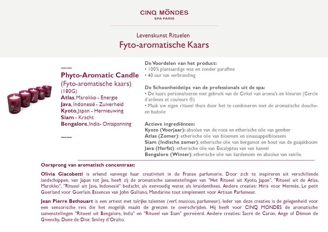 Fyto-aromatische Kaars