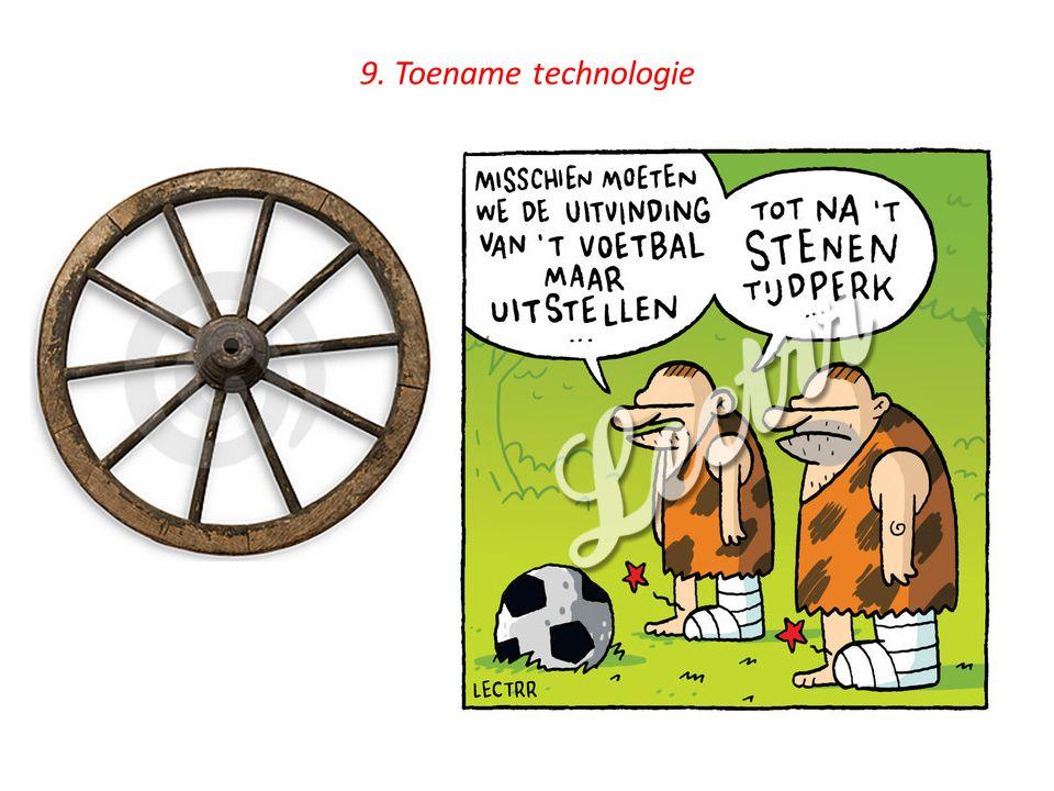 9. Toename technologie