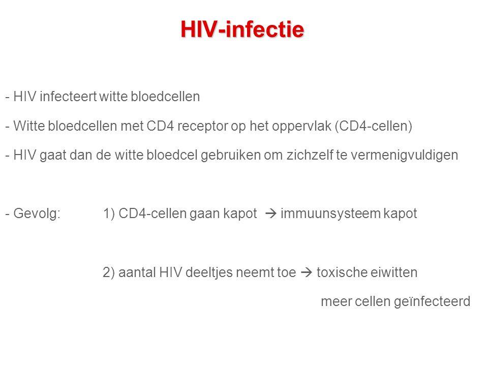 HIV-infectie - HIV infecteert witte bloedcellen