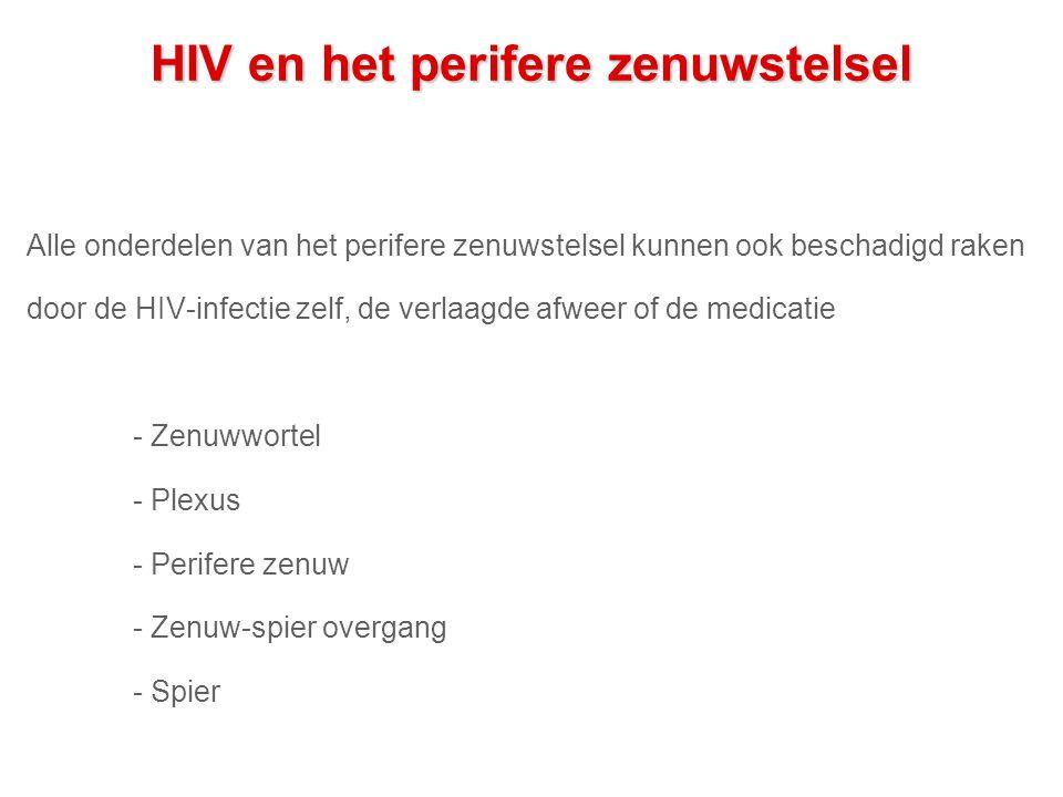 HIV en het perifere zenuwstelsel