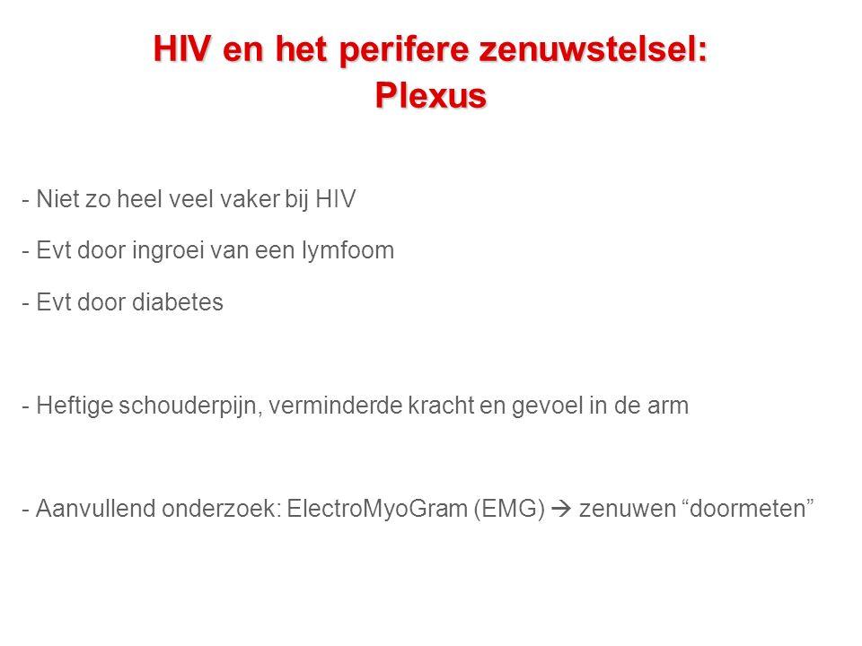 HIV en het perifere zenuwstelsel: Plexus