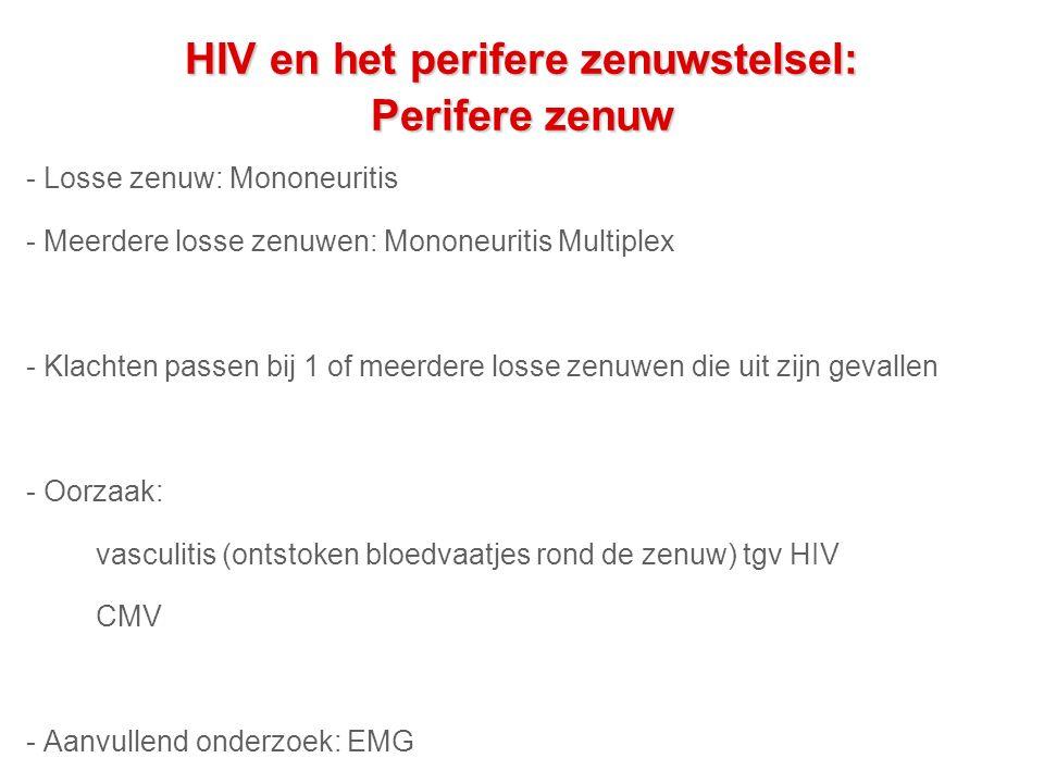 HIV en het perifere zenuwstelsel: Perifere zenuw