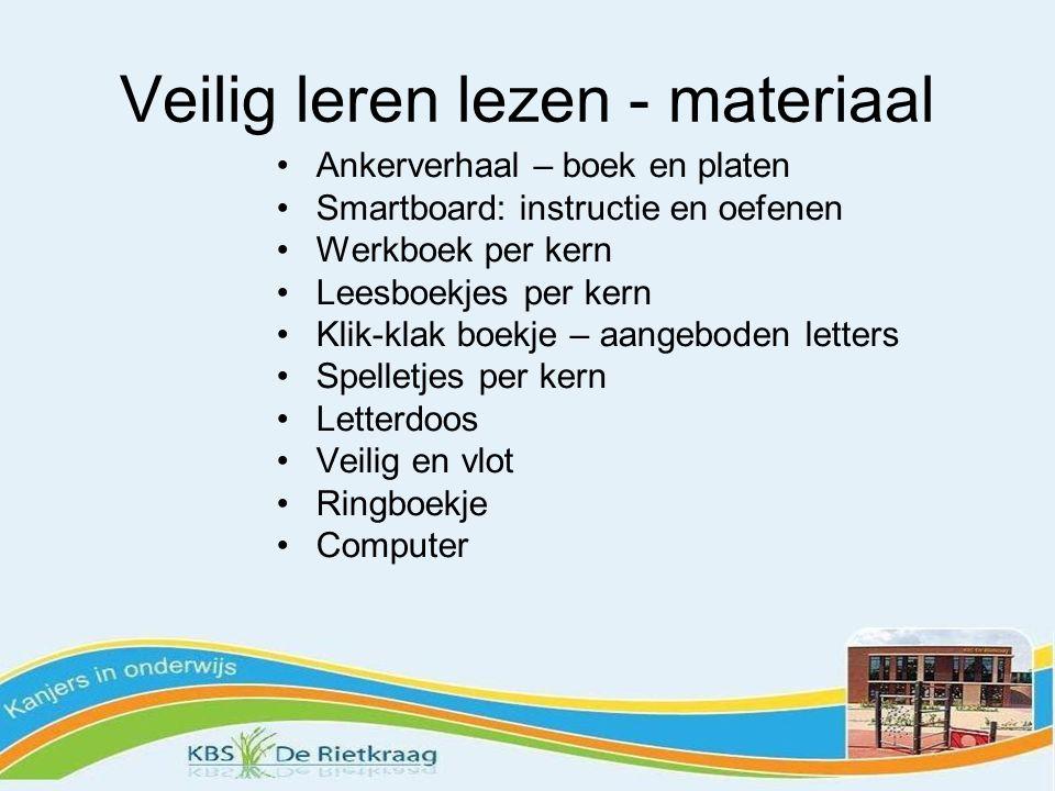 Veilig leren lezen - materiaal