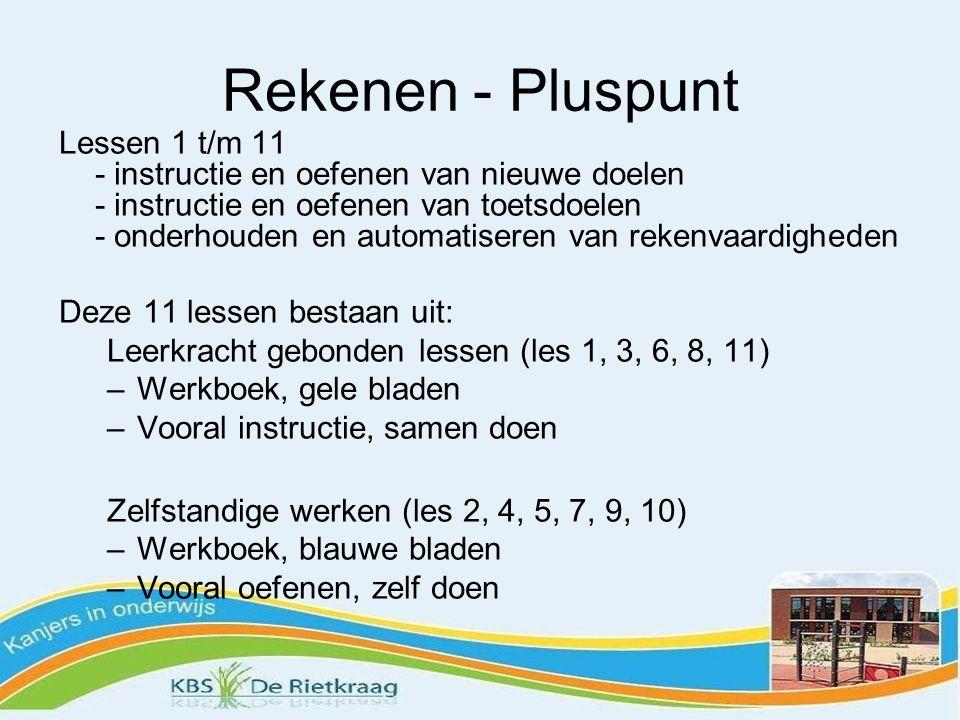Rekenen - Pluspunt