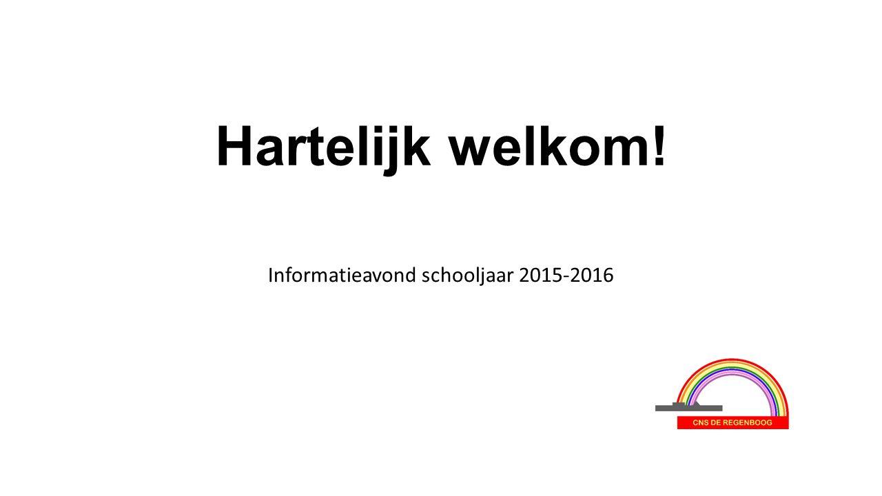 Informatieavond schooljaar 2015-2016