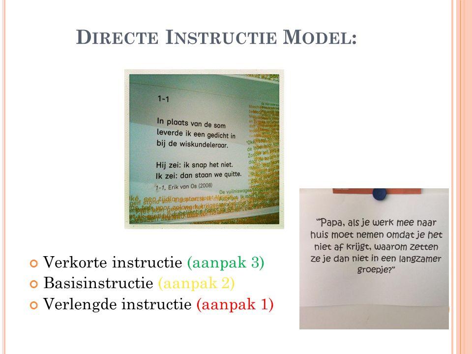 Directe Instructie Model:
