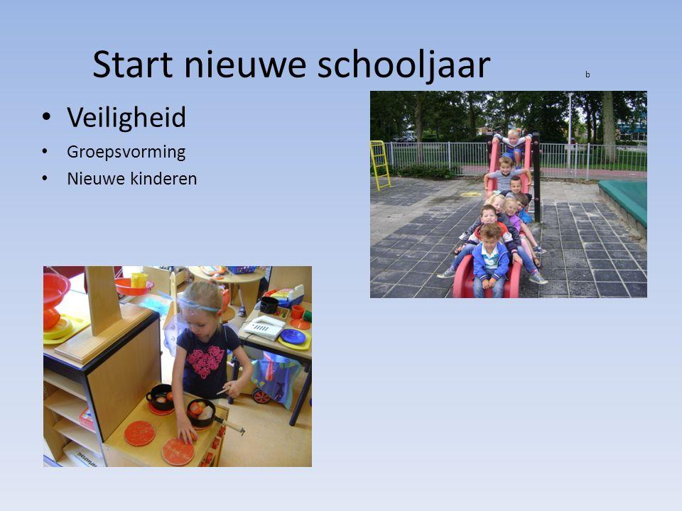 Start nieuwe schooljaar b