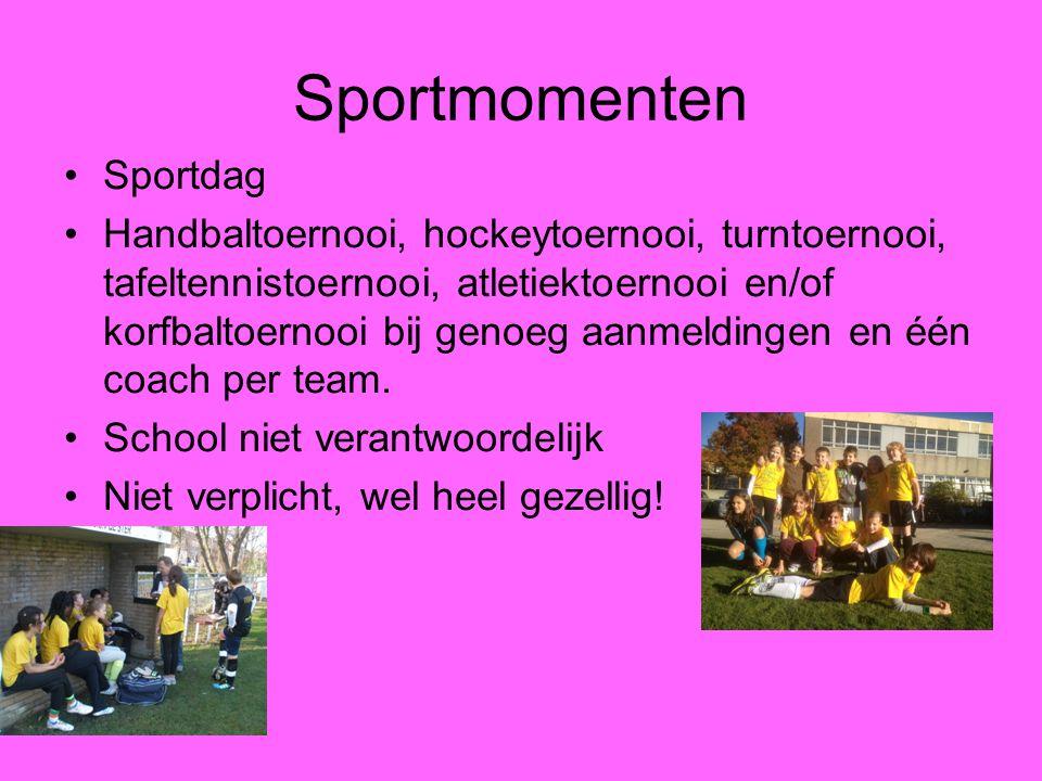 Sportmomenten Sportdag