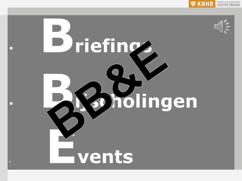 BB&E Briefings Bijscholingen Events