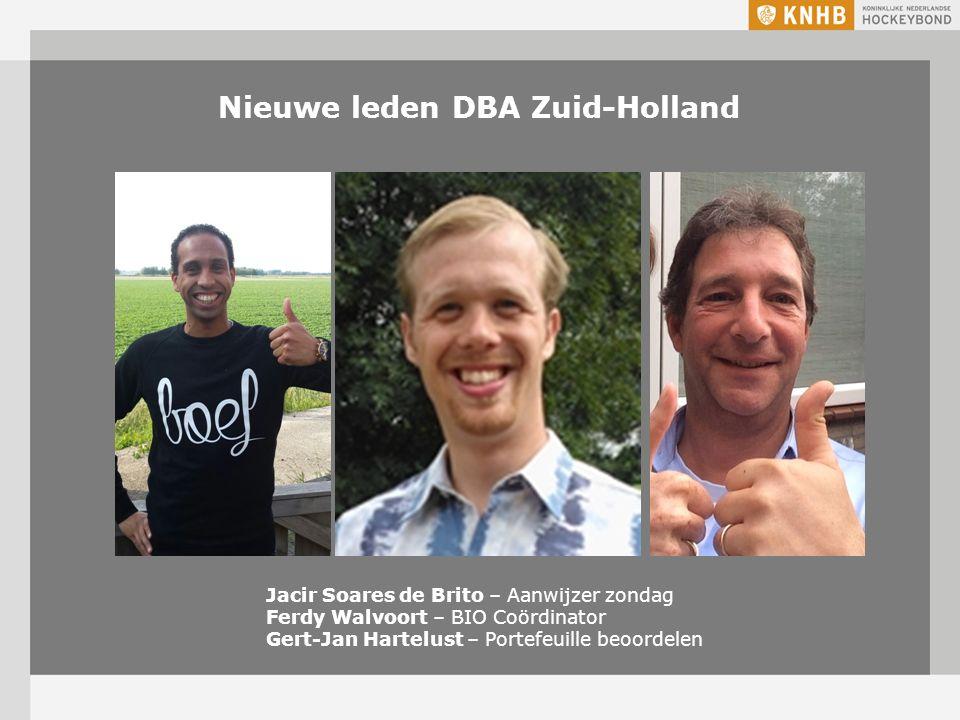 Nieuwe leden DBA Zuid-Holland