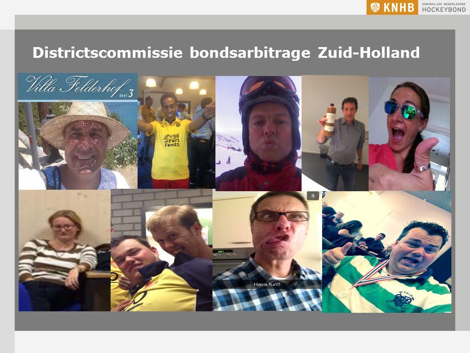 Districtscommissie bondsarbitrage Zuid-Holland