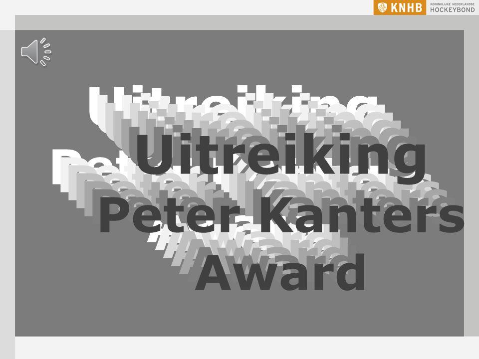 Uitreiking Peter Kanters Award