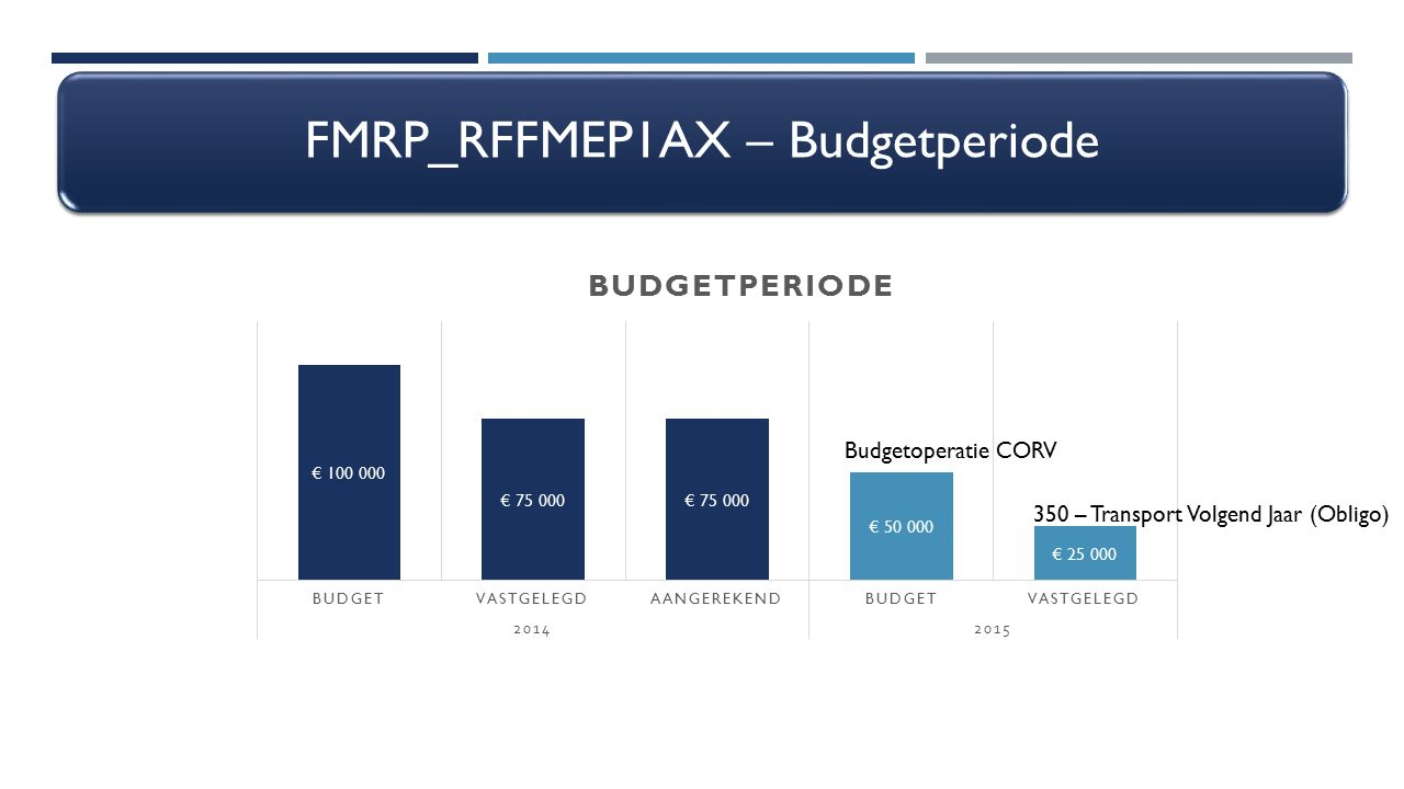FMRP_RFFMEP1AX – Budgetperiode
