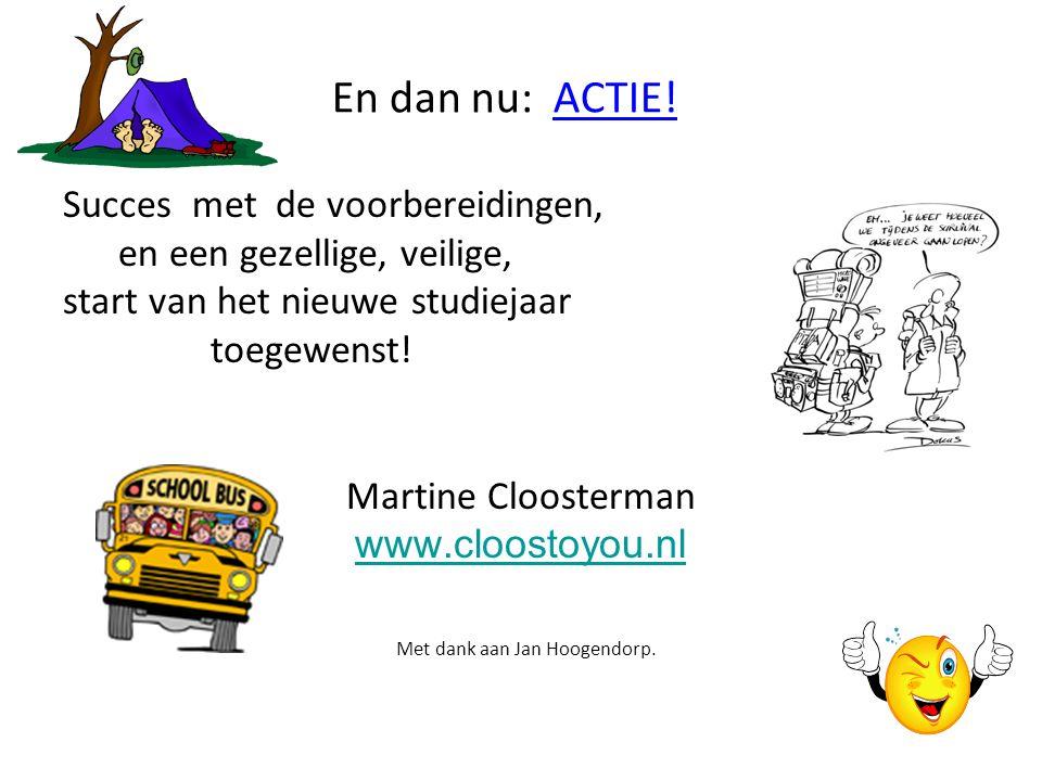 Met dank aan Jan Hoogendorp.