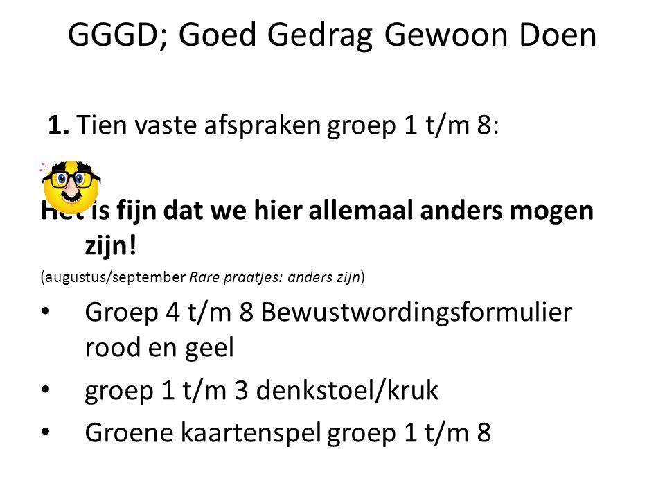 GGGD; Goed Gedrag Gewoon Doen