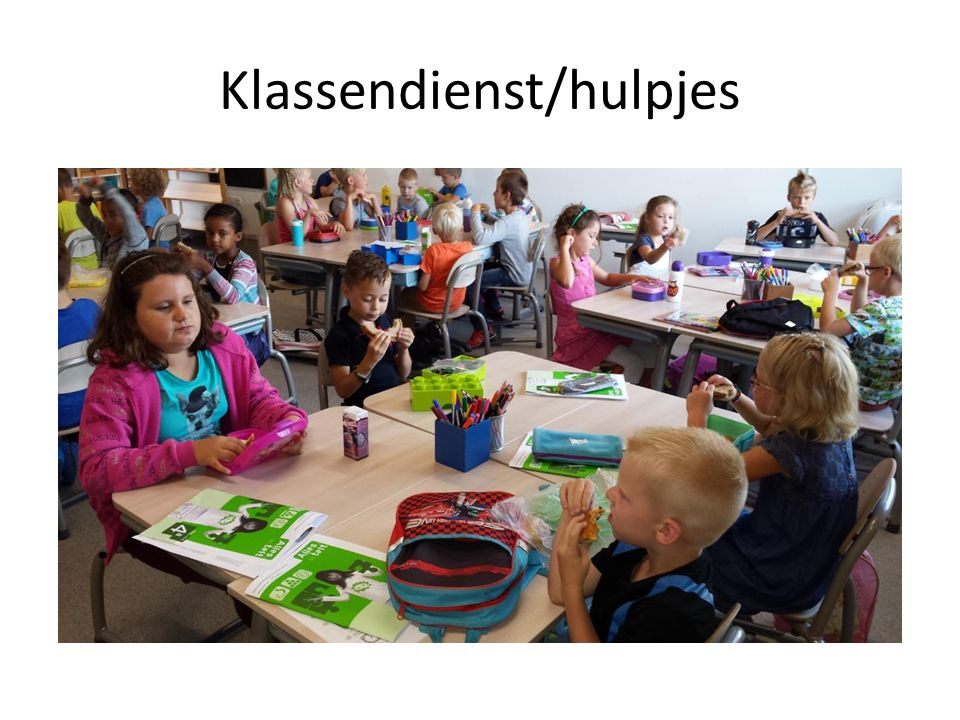 Klassendienst/hulpjes