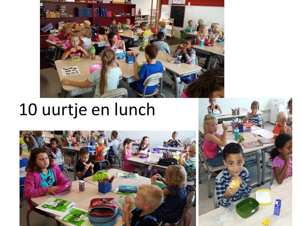 10 uurtje en lunch