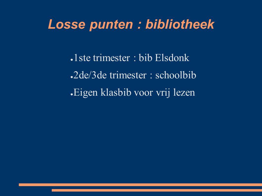 Losse punten : bibliotheek