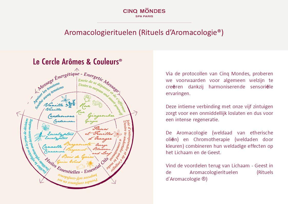 Aromacologierituelen (Rituels d'Aromacologie®)