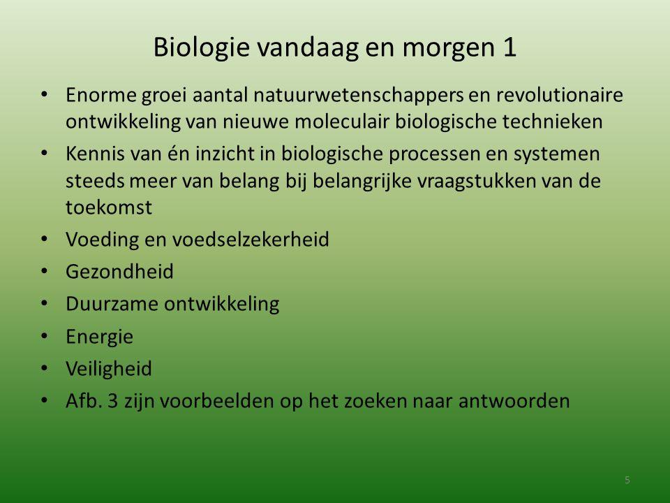 Biologie vandaag en morgen 1
