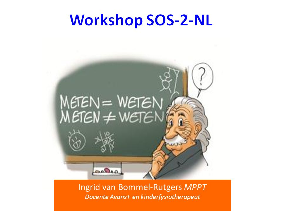 Workshop SOS-2-NL Ingrid van Bommel-Rutgers MPPT