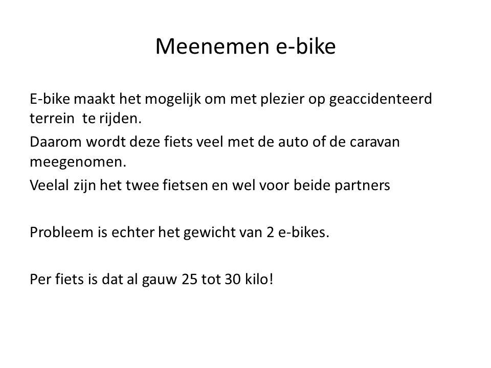 Meenemen e-bike