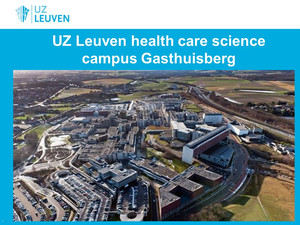 UZ Leuven health care science campus Gasthuisberg