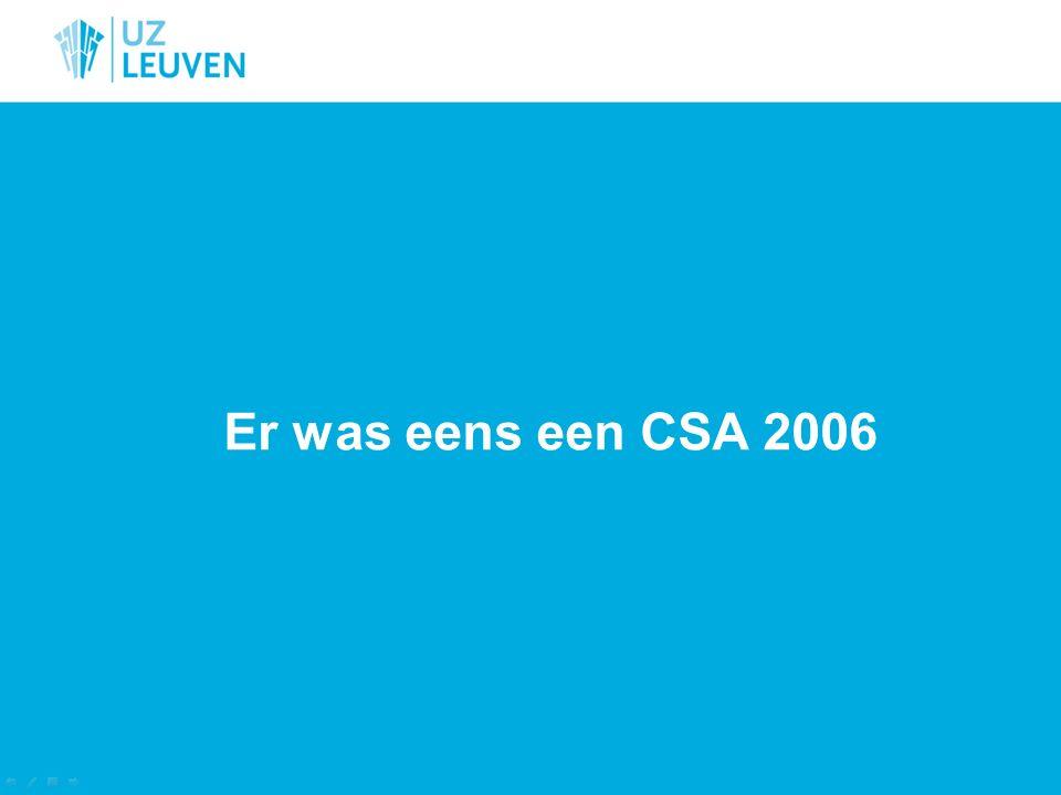Er was eens een CSA 2006