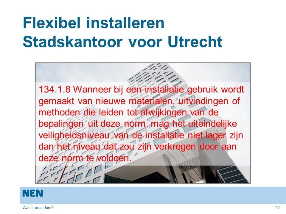 Flexibel installeren Stadskantoor voor Utrecht