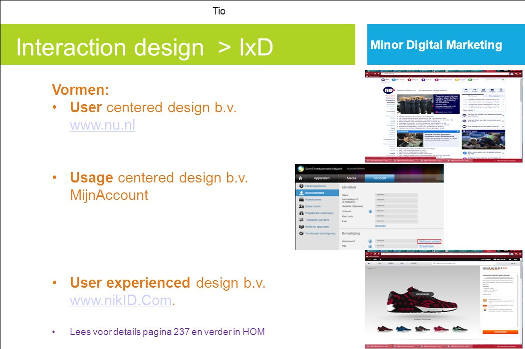Interaction design > IxD