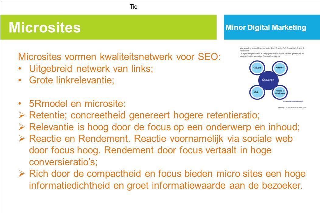 Microsites Microsites vormen kwaliteitsnetwerk voor SEO: