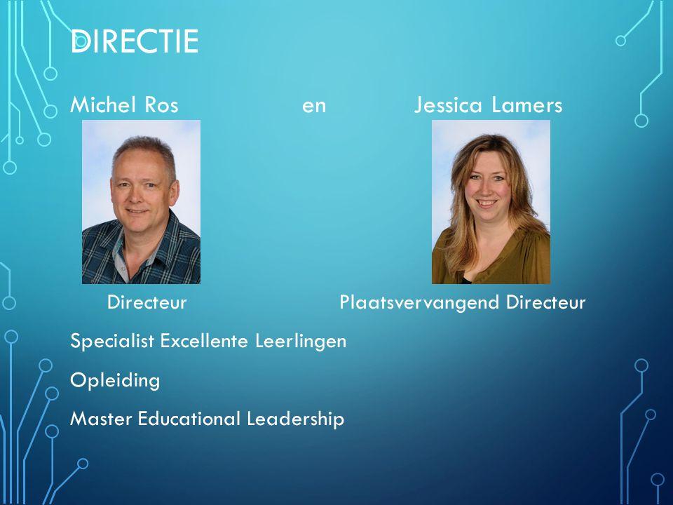 Directie Michel Ros en Jessica Lamers