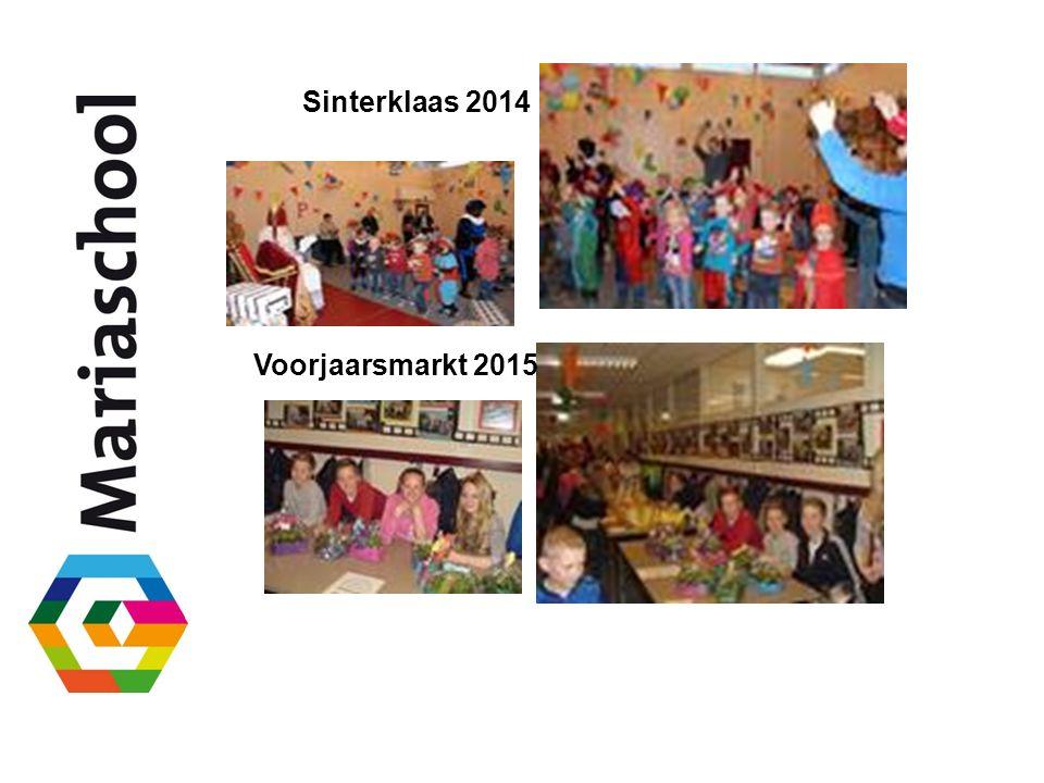 Sinterklaas 2014 Voorjaarsmarkt 2015