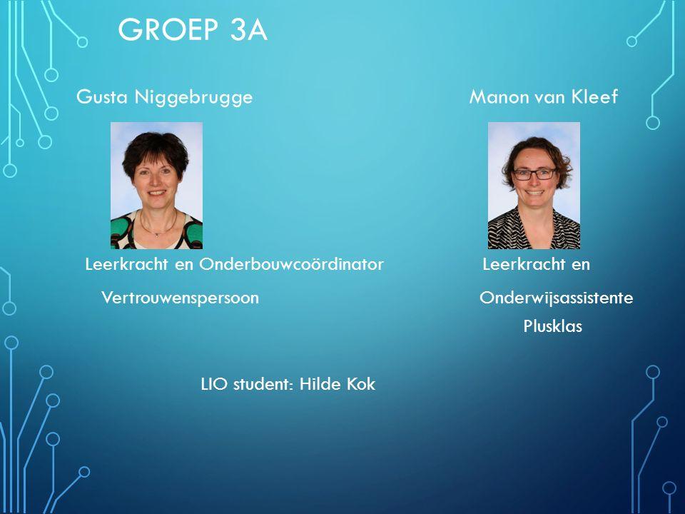 Groep 3A Gusta Niggebrugge Manon van Kleef