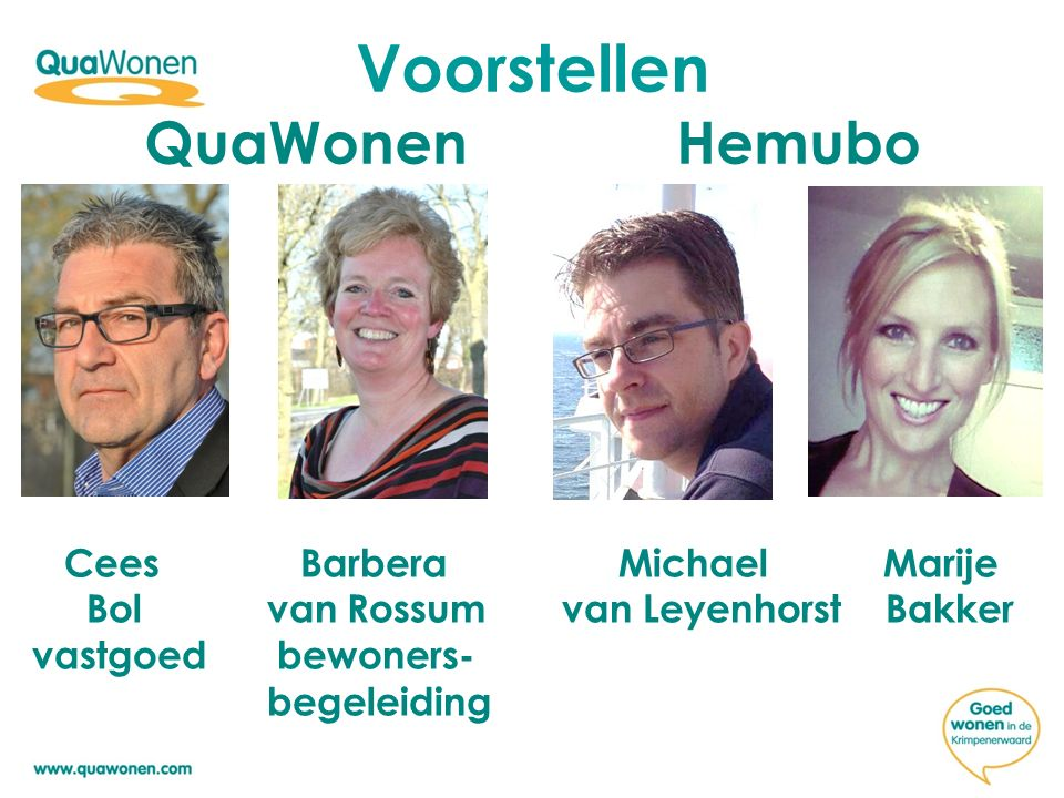 Voorstellen QuaWonen Hemubo