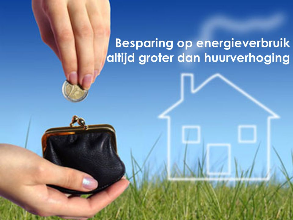 Besparing op energieverbruik altijd groter dan huurverhoging