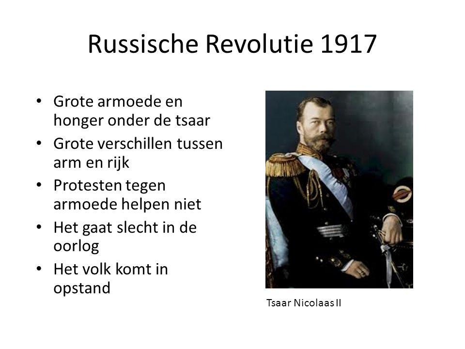 Russische Revolutie 1917 Grote armoede en honger onder de tsaar