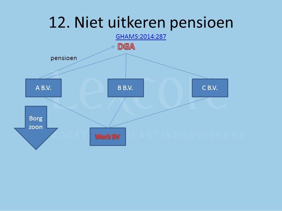 12. Niet uitkeren pensioen GHAMS:2014:287