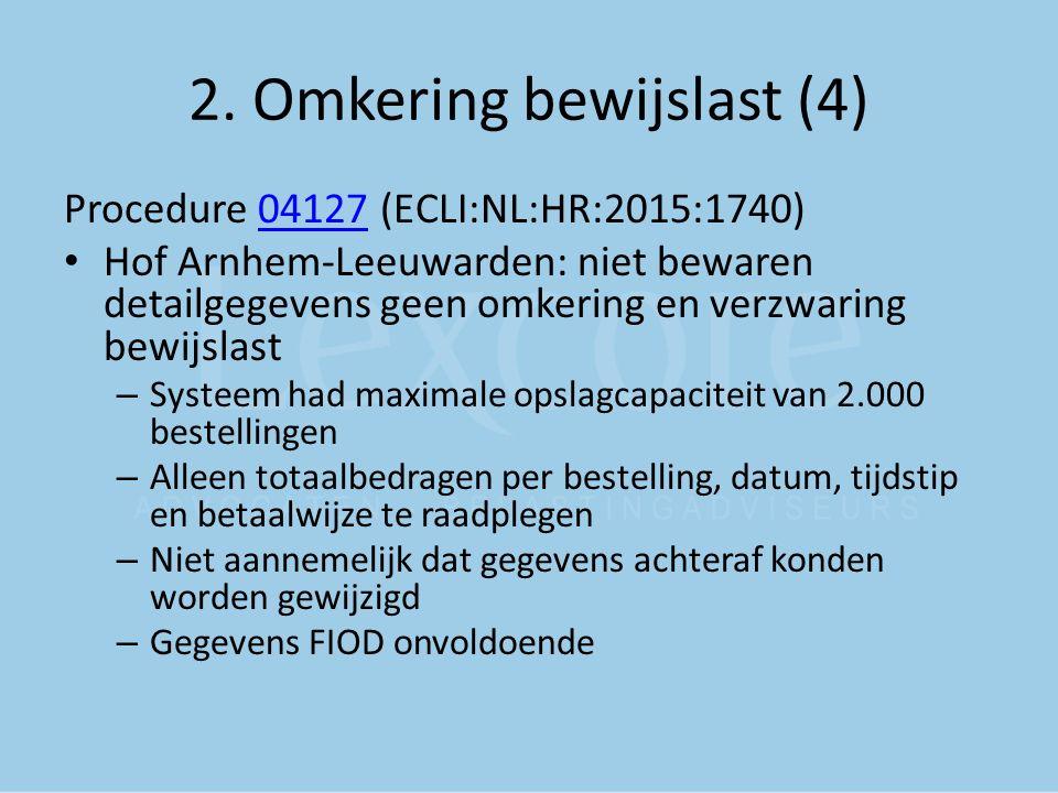 2. Omkering bewijslast (4)