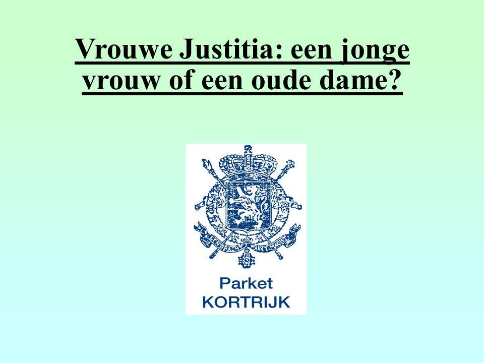 Vrouwe Justitia: een jonge vrouw of een oude dame