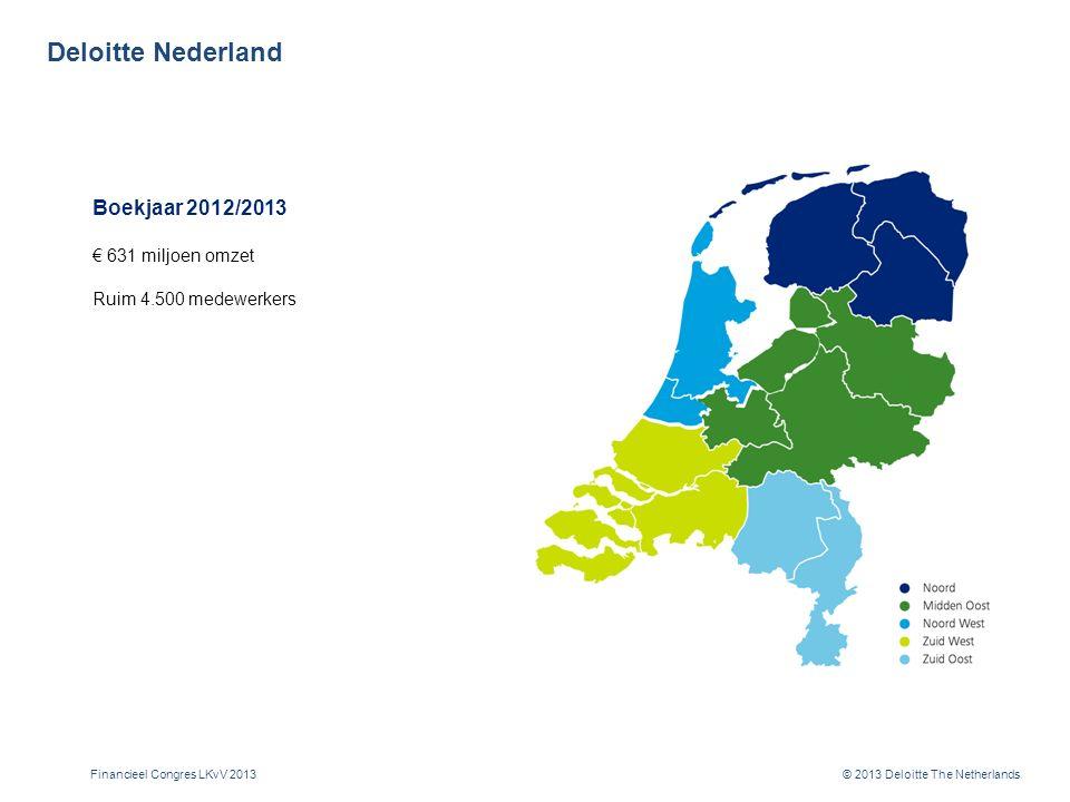 Deloitte kantoren in Nederland