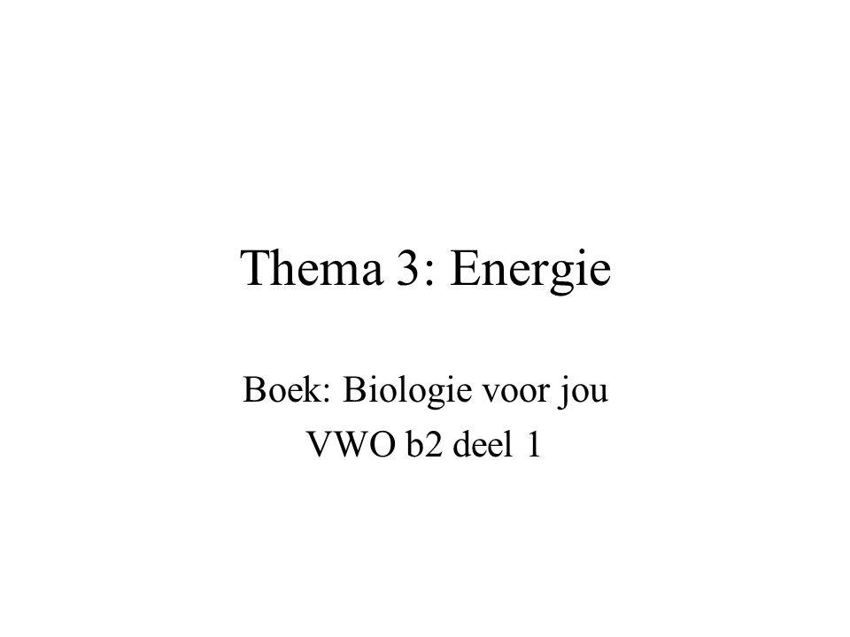 Boek: Biologie voor jou VWO b2 deel 1