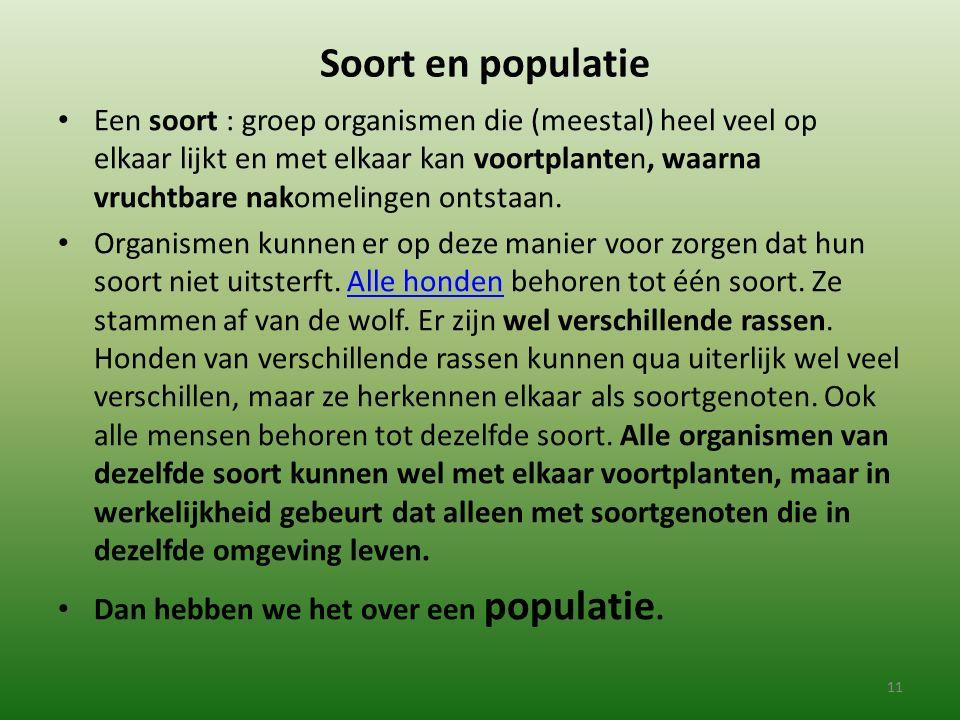 Soort en populatie