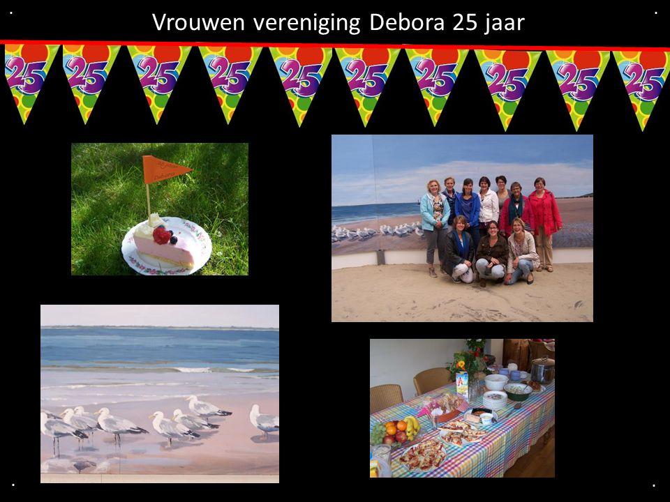 Vrouwen vereniging Debora 25 jaar