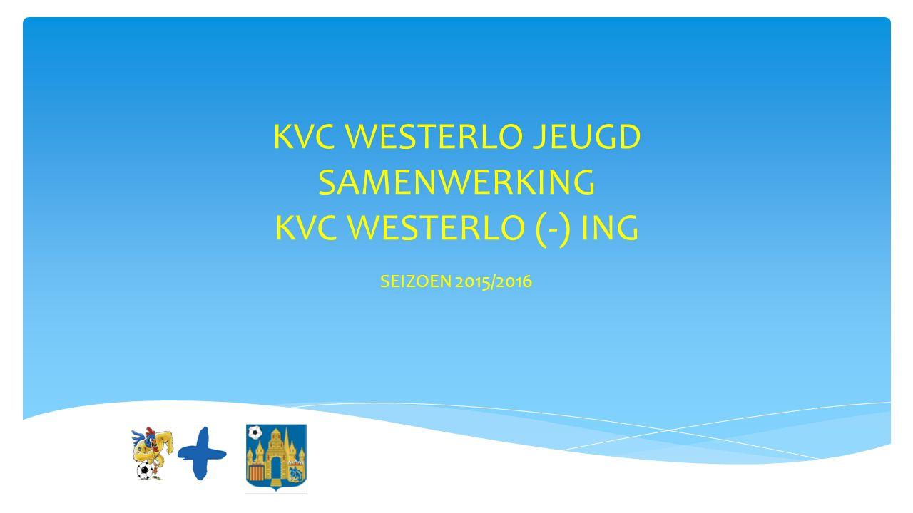 KVC WESTERLO JEUGD SAMENWERKING KVC WESTERLO (-) ING