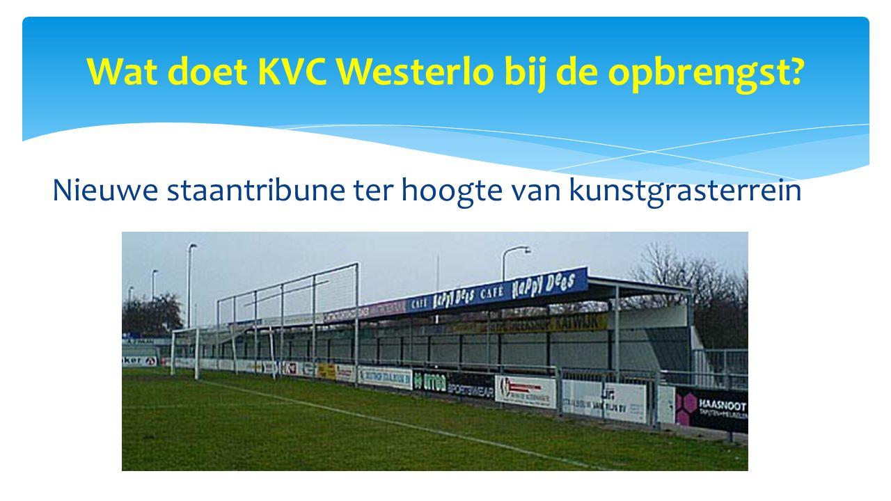Wat doet KVC Westerlo bij de opbrengst