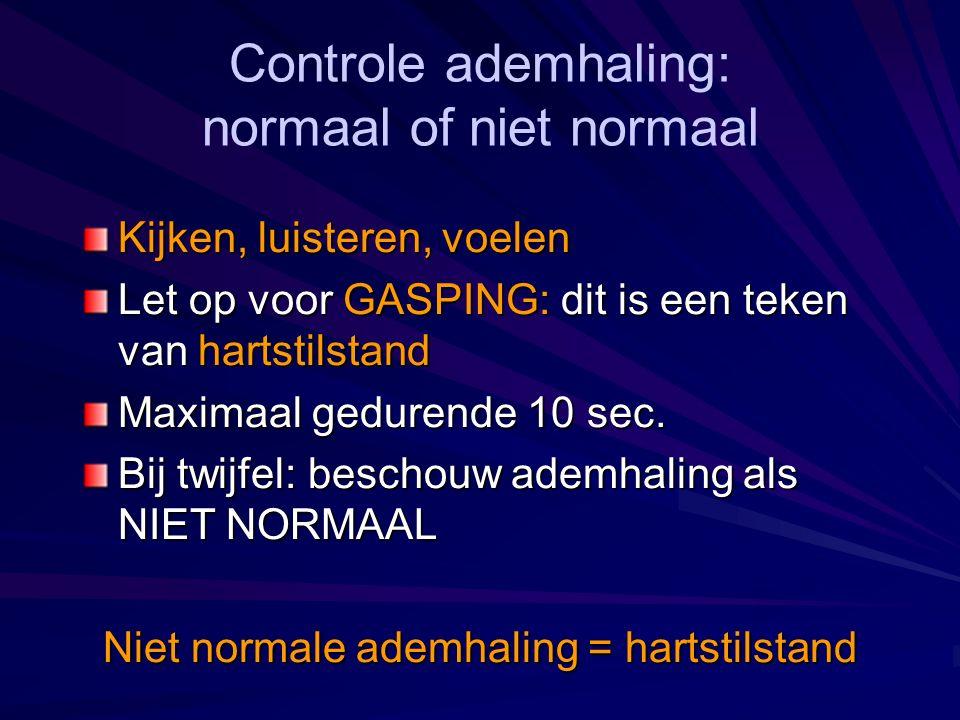 normaal of niet normaal