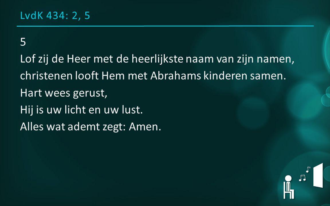 LvdK 434: 2, 5