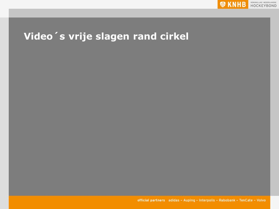 Video´s vrije slagen rand cirkel